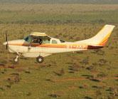 EWB Plane in Tsavo