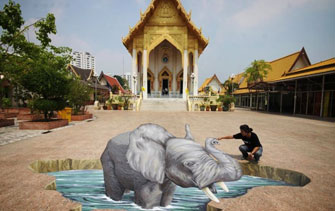 Buddhist elephant